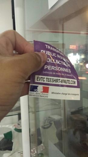 PUBLIC TRANSPORT DE PERSONNES TÉLÉCHARGER VIGNETTE ROUTIER COLLECTIF