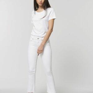Teeshirt Femme 100% Coton Organique – Col Rond