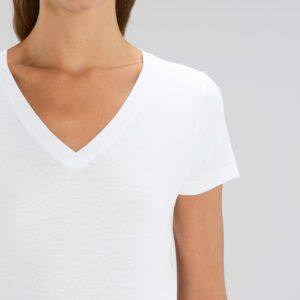 Teeshirt Femme - Col V Personnalisé
