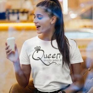 Teeshirt Femme - Queen Mais Pas B