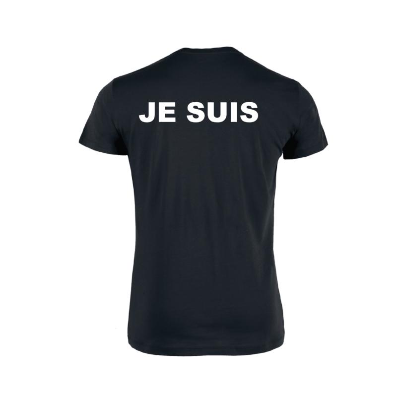 Tshirt Homme - Je Suis - Noir