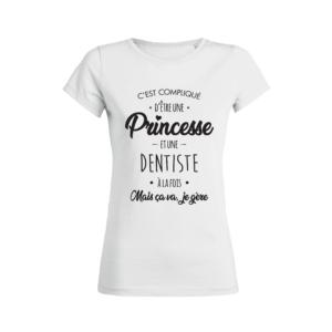 Teeshirt Femme – C'est compliqué d'Être une princesse