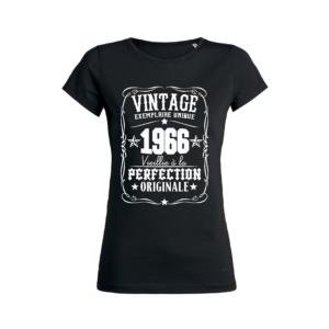 Teeshirt Femme – Vintage Exemplaire Unique