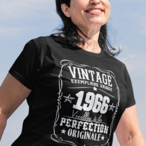 Teeshirt Femme - Vintage Exemplaire Unique