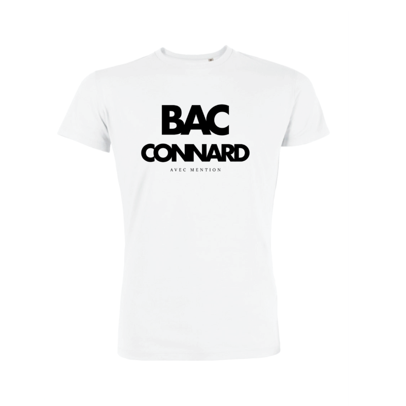 Teeshirt Homme – BAC Connard Avec Mention