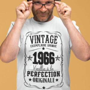 Teeshirt Homme - Vintage Exemplaire Unique