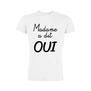 Teeshirt Homme – Madame A Dit Oui