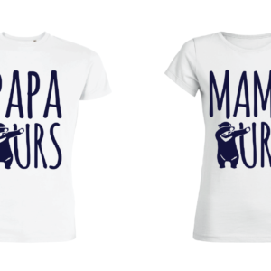Teeshirt-couple---Papa-Ours---Mama-Ours-