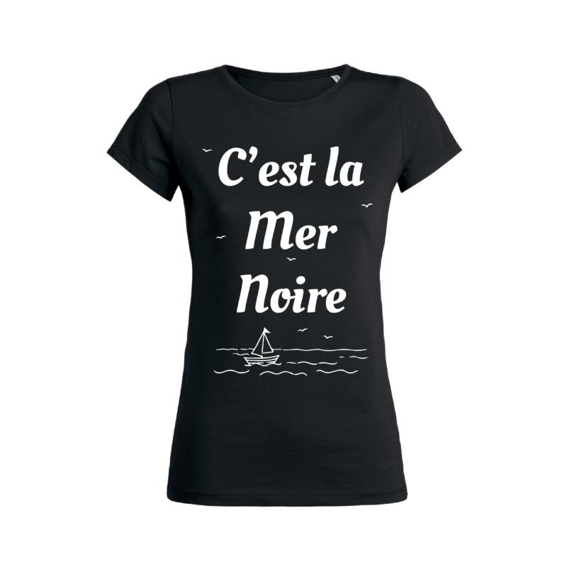 Teeshirt Femme - C'est La Mer Noire