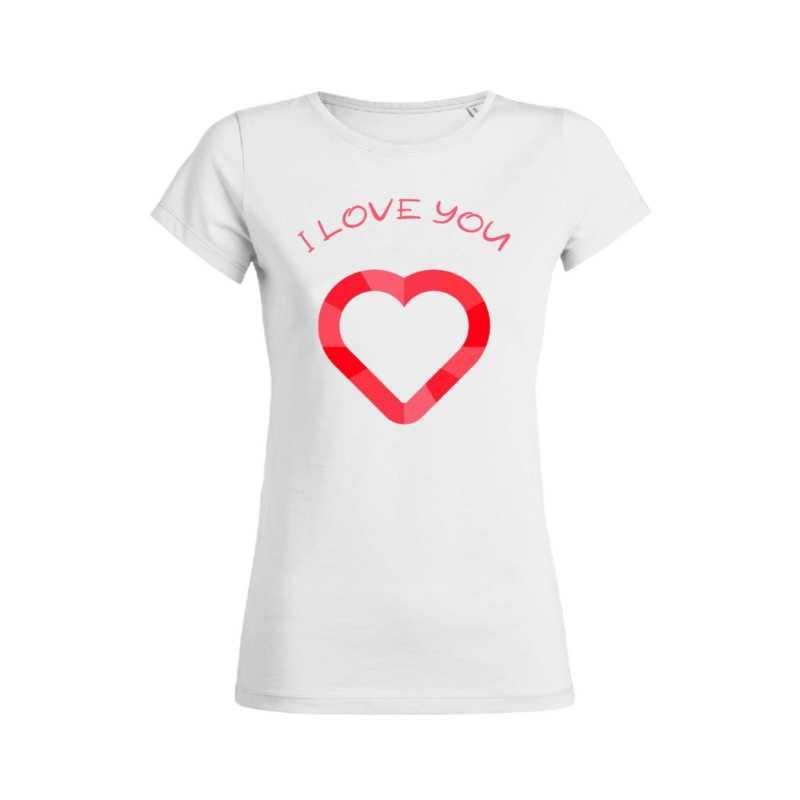 Teeshirt Femme - I Love You