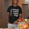 Teeshirt Homme - SeReveiller Manger Dormir Repeat Please