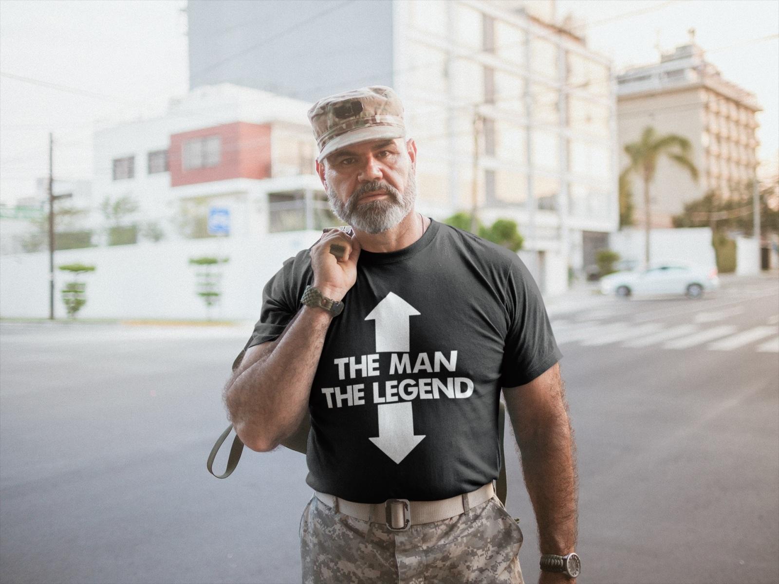 Teeshirt Homme - The Man The Legend