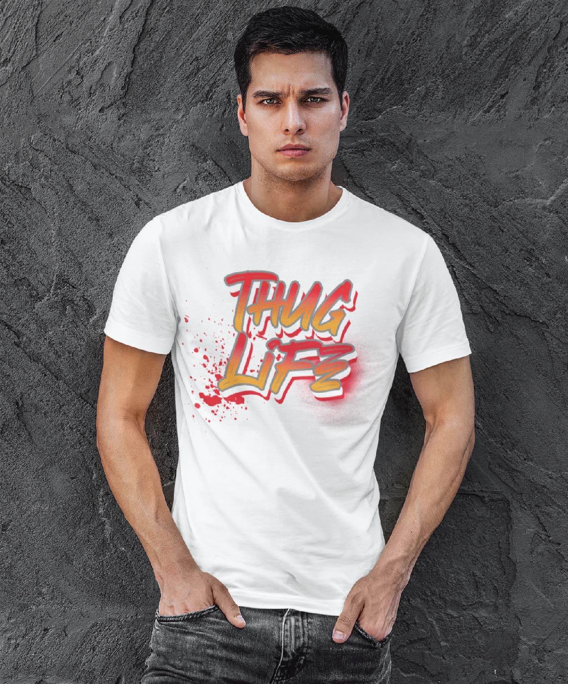 Teeshirt Homme - Thug Life
