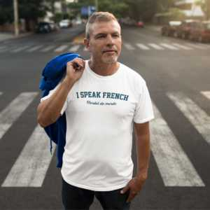 Teeshirt Homme - I Speak French (Bordel de merde)
