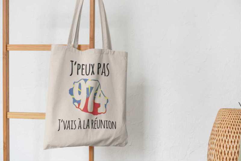 Tote Bag - J'peux Pas J'vais À La Réunion
