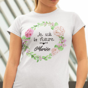 Teeshirt Femme - Je Suis La Future Mariée