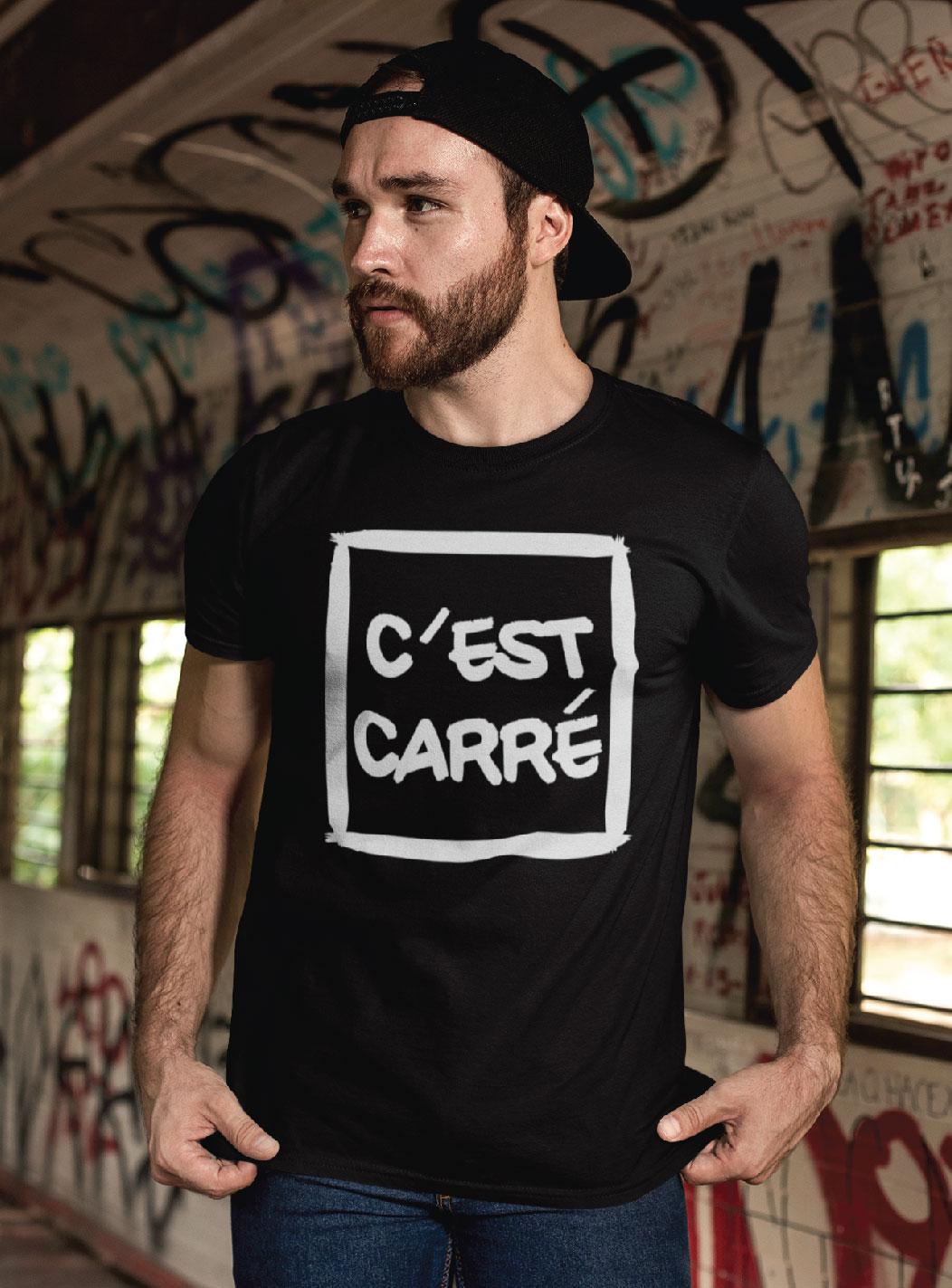 Teeshirt Homme – C'est Carré