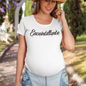 Teeshirt Femme - Enceintillante