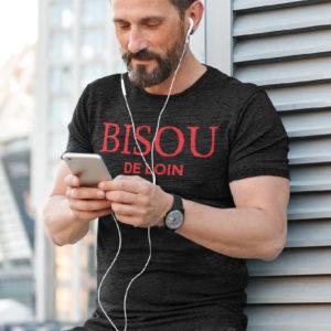 Teeshirt Homme - Bisou De Loin