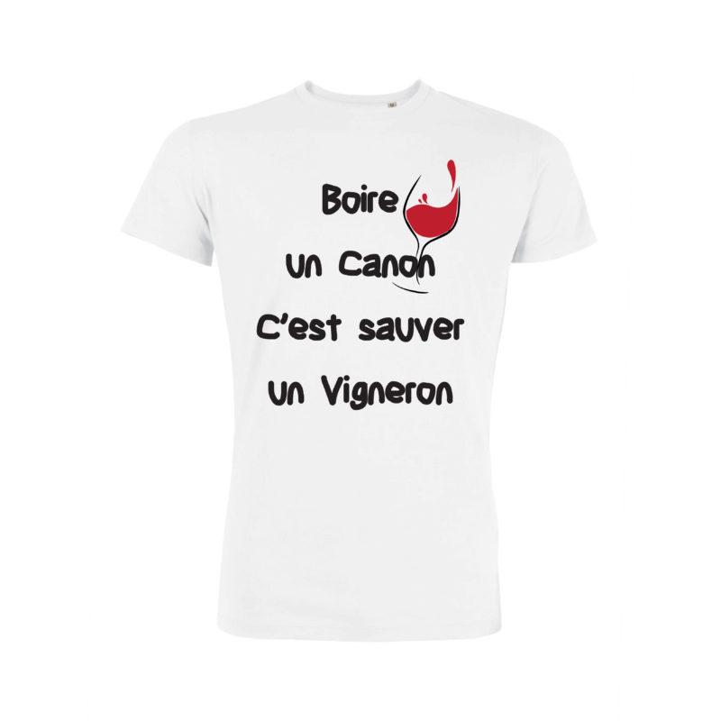Boire Un Canon C'est Sauver Un Vigneron