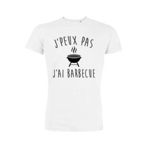 Teeshirt Homme - J'peux Pas J'ai Barbecue