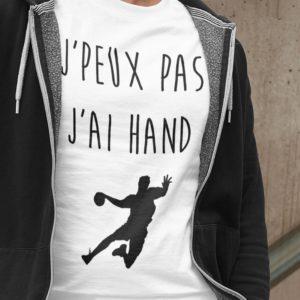 Teeshirt Homme - J'peux Pas J'ai Hand