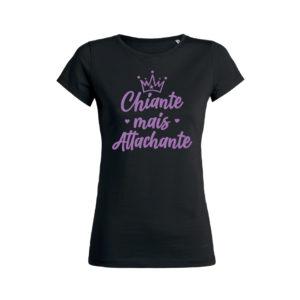 Teeshirt Femme - Chiante Mais Attachante