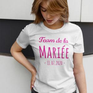 Teeshirt Femme - Team De La Mariée