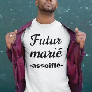 Teeshirt Homme - Futur Marié (Assoiffé)