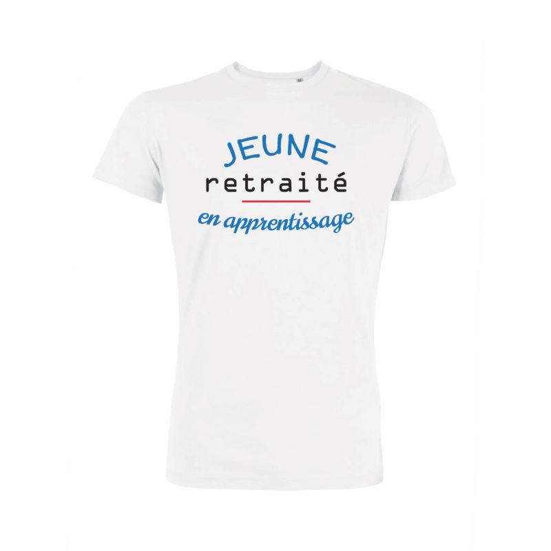 Teeshirt Homme - Jeune Retraité En Apprentissage