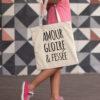 Tote Bag - Amour Gloire & Féssée