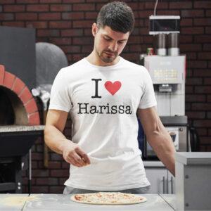 Teeshirt Homme - I Love Harissa