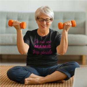 Teeshirt Femme - Je Suis Une Mamie Trop Géniale