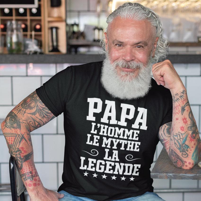 Papa L'homme Le Mythe La Légende
