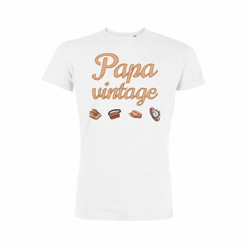 Teeshirt Homme - Papa Vintage