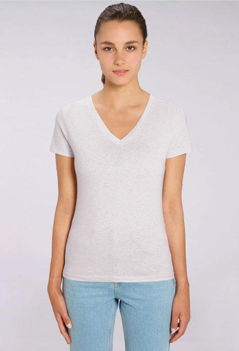 t-shirt-personnalisé-femme-V