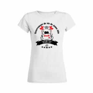 Teeshirt Femme - Enterrement De Vie De Jeune Fille (EVJF)