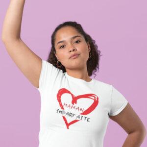 Teeshirt Femme - Maman Imparfaite