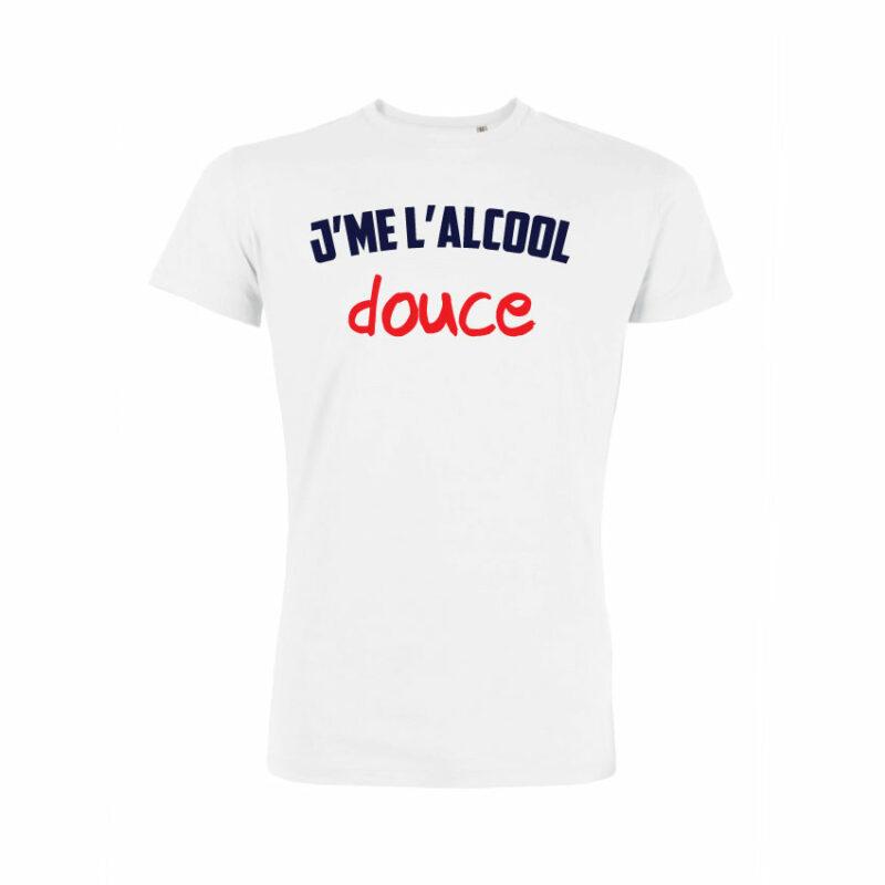 Teeshirt Homme - J'me L'alcool Douce