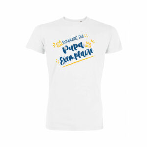Teeshirt Homme - Royaume Du Papa Exemplaire
