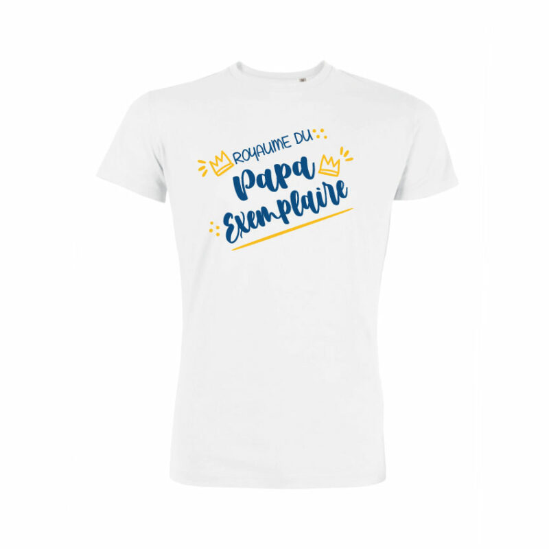 Teeshirt Homme - Royaume Du Papa Exemplaire