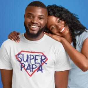 Teeshirt Homme - Super Papa