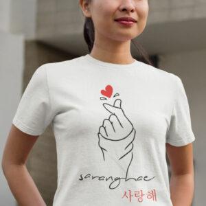 Teeshirt Femme - Saranghae